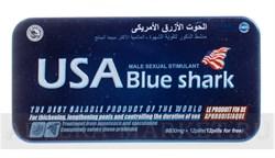 Usa blue shark (акулий хрящ) металл (12 табл) - фото 5251
