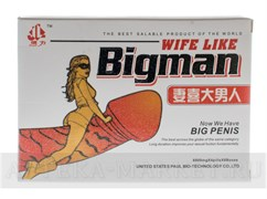 BigMAN Wife like (NEW) (4 табл)